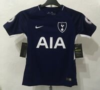TOTTENHAM HOTSPUR  2017/18 AWAY SHIRT BY NIKE 13-15 YEARS NEW PL BADGED