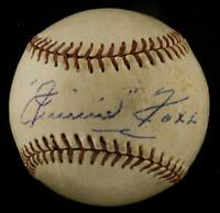 Spectacular Jimmie Foxx Single Signed Autographed Baseball PSA DNA & Beckett COA