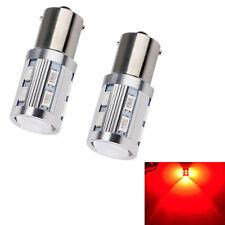 2pcs1156 BA15S Rouge 5730 33 LED Auto Véhicule Feux clignotants Lumière Ampoule