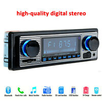 Car Digital FM stereo radio Bluetooth MP3 Player Aux USB/S/WMA/MP3/WAV 4-channel