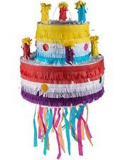 Pinata Torte Geburtstag Kindergeburtstag Hochzeit Party Deko Regenbogen 32x30cm
