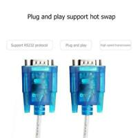 USB 2.0 To RS232 COM Port 9 Pin Serial DB25 DB9 Adapter Converter Cable K8F7