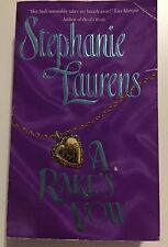 Stephanie Laurens  A Rake's Vow 1998 Paperback Novel