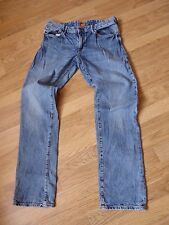 mens HUGO BOSS distressed jeans - size 35/34 good condition