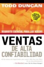 Ventas de Alta Confiabilidad: Requisito Esencial Para Las Ventas (Paperback or S