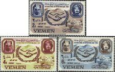 Jemen(Königreich) 169A-171A (kompl.Ausg.) postfrisch 1965 Internationale Zusamme