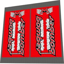 MARZOCCHI Bomber Monster Triple 2001 Fork Sticker / Decal Set