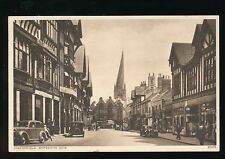 Derbyshire Derbys CHESTERFIELD Knifesmith Gate 1950s? PPC Swallows Store