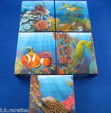 2009/10 Australian Sea Life I The Reef 5 Five Silver Proof Coin Set - SUPERB SET