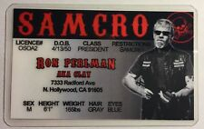 Clay - Ron Perlman - Sons Of Anarchy / SAMCRO - Novelty Drivers License