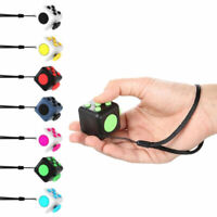 Magic Fidget Cube Anti-Angst Erwachsene Stress Relief Kids Spielzeug Gadget