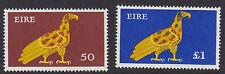 IRELAND, Scott #358-359, 50p & 1pound Values, MNH, 1974-78 Definitives