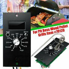 120V Digital Thermostat Control Board + Probe For Pit Boss Wood Pellet Grills