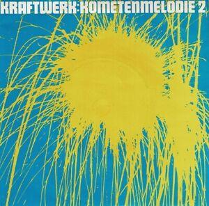 KRAFTWERK Kometenmelodie 2 Vinyl Record Single 7 Inch Vertigo 1981 Krautrock Pop