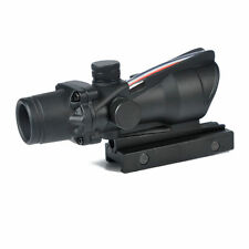 New Style ACOG 1x32 Holographic Fiber Optical Collimator Sights Red Dot Scope