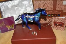 Trail of Painted Ponies RETIRED SNOWFLAKE Pony Jeweled Enameled gift trinket box