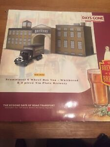 CORGI LLEDO DAYS GONE TRACKSDE BB1002 SCAMMELL 6WHL WHITBREAD TIN PLATE BREWERY