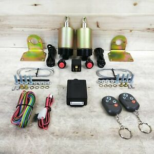 4 Function 35lbs Remote Shaved Door Popper Kit GM Truck or Car V8 LS Muscle