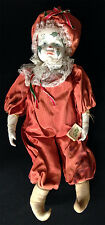 Porcelain Doll 23 inches tall good shape  Collectible - 6