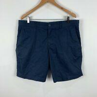 Sportscraft Mens Shorts 36 Blue Bermuda Pockets