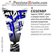 Paraserbatoio tank pad Monster blu Buell 1125 Cyclone S1 X1 Xb12 Xb9