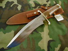 RANDALL KNIFE KNIVES LARGE SASQUATCH,#727,LH,BL.-B.S,MH,SFG,BBR,WT  #A849