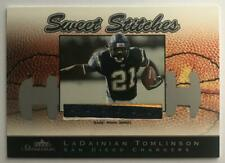 (HCW) 2003 Fleer Showcase Sweet Stitches Jersey LaDainian Tomlinson 44/899 07444