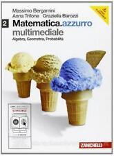 Matematica.azzurro 2 con Maths English, BERGAMINI, ZANICHELLI cod.9788808135155