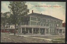 Postcard Port Allegany Pennsylvania/Pa Sartwell House Tourist Hotel/Inn 1907