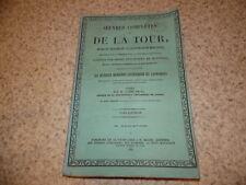 1855.Oeuvres de Bertrand de La Tour.T7 : mémoires liturgiques.Montauban.