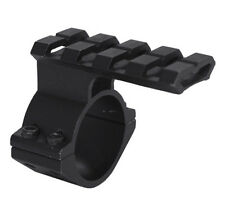 Tactical Shotgun Clamp Mount w/ Weaver Style Accessory Rail Fits Mossberg 500