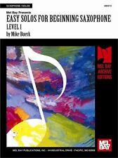 Fácil solos al inicio de saxofón, nivel 1