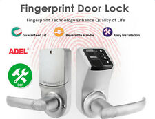 ADEL Fingerprint Door Lock Biometric Keypad Keyless Password control L/R Handle