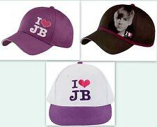 Justin Bieber Cap Kappe Mütze Schirmmütze Basecap