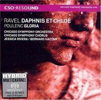 Poulenc/Ravel - Gloria/Daphnis Et Chloe  Sacd/Hybrid (2009, SACD NEUF)