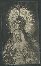 Postal antigua de la Virgen Macarena andachtsbild santino holy card santini