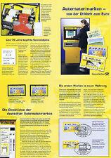BRD 2002: Automatenmarken-Erinnerungsblatt mit Nr 4+5 gest. + Postfrische! 1701