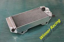 LEFT aluminum radiator for HONDA CRF250R/CRF250X 2004-2009 2008 2007