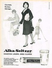 PUBLICITE  1966  ALKA-SELTZER    digèstion légère