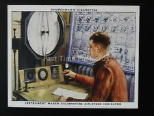 No.13 CALIBRATING AIR SPEED INDICATOR The R.A.F. at Work RAF Churchman 1937