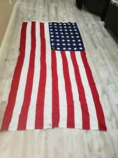 "48 Star American Us Flag 110"" x 55"" To Support Veterans"
