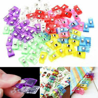 20Pcs Colorful Wonder Clips For Fabric Quilting Craft Sewing Knitting Crochet