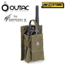 Tasca Porta Radio Regolabile OUTAC by DEFCON 5 per Gilet o Cintura MOLLE OD