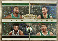 2019-2020 Panini Contenders Jaylen Brown Sparkle Prizm Team Squad Boston Celtics