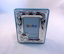 "Towle Sterling Baby Frame W/ Bear Inside Dimension 2 1/2"" x 3 1/2""-New in Box"