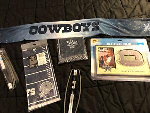 Dallas Cowboys Fan - Lot Souvenirs And Apparel 3D Picture Frame Scarfs 8x5 Cover