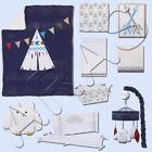 Teepee 9 pc Crib Bedding Set by NoJo