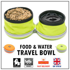 Truelove Collapsible Travel Food Water Dog Bowl Pet Compact