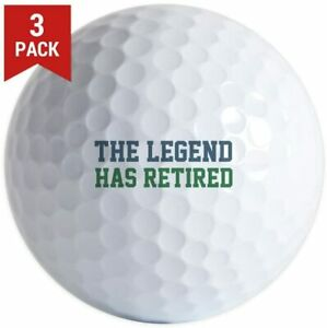 3 Pack Legend Retired Golf Balls. Your choice: Pro V1, Callaway Chrome Soft,B330