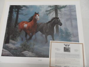 """CHUCK DEHAAN ESCAPE Signed & Numbered Dimensions: 18 3/4"""" x 25""""  s/n 546/925"""